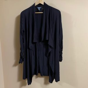 Kenneth Cole Reaction waterfall cardigan